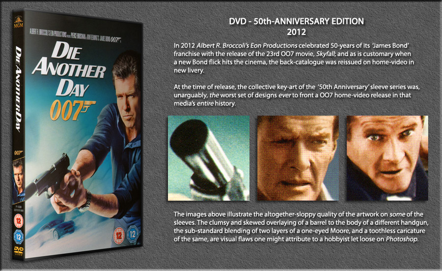 James Bond 007 Home Video - DVD - Series 6 - 50th Anniversary